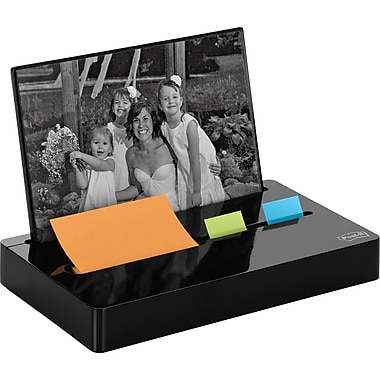 Post-it® Pop-up Photo Frame Combo Dispenser, Black