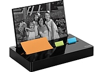 Post-it® Pop-up Photo Frame Combo Dispenser, Black