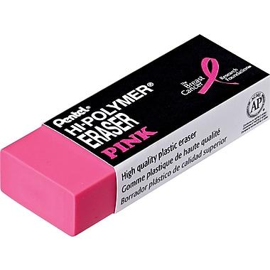 Pentel®Pink Hi-Polymer®Eraser, Large Block, Pink, Each