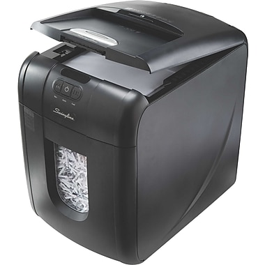 Swingline® Stack and Shred 130X Auto-Feed 130-Sheet Cross-Cut Professional Shredder
