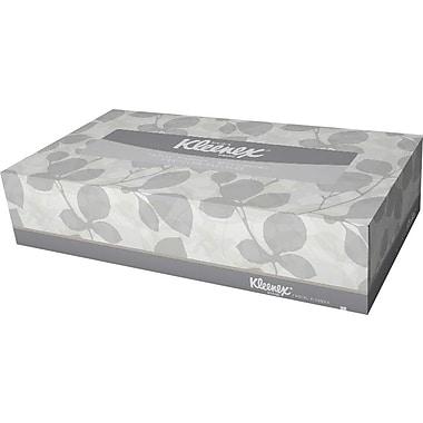 KIMBERLY-CLARK PROFESSIONAL® KLEENEX 21606 Facial Tissue, Color: White, 8 3/16