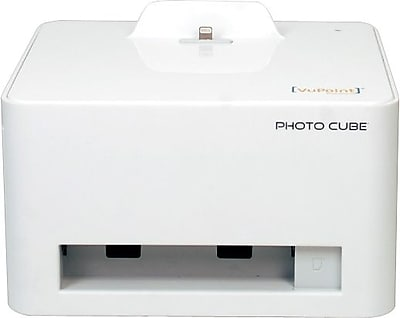 Vupoint Ip P28 Vp Photo Cube Compact Photo Printer Staples