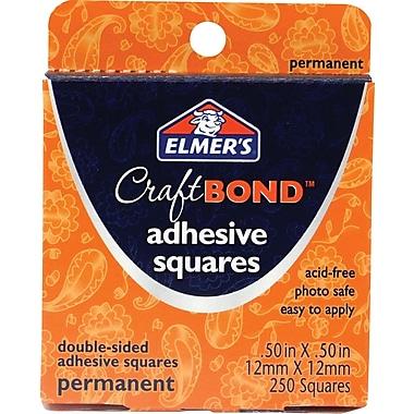 Elmer's® CraftBond Adhesive Squares, Permanent (E64008)