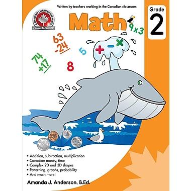 Canadian Curriculum Press – Cahier d'exercices en mathématiques, 2e année, anglais