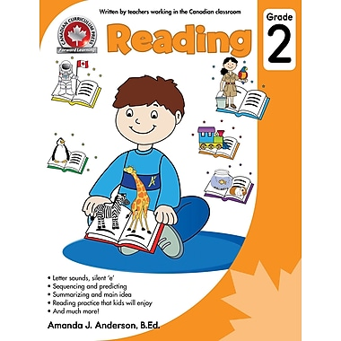 Canadian Curriculum Press – Reading Workbook, 2e année, anglais