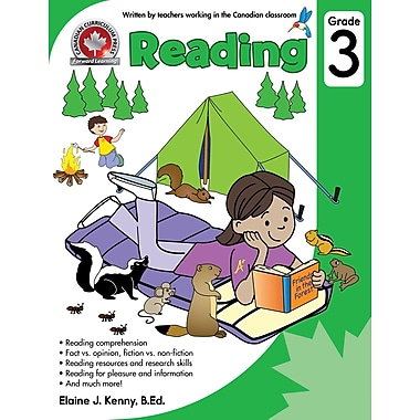 Canadian Curriculum Press Reading Workbook, Grade 3