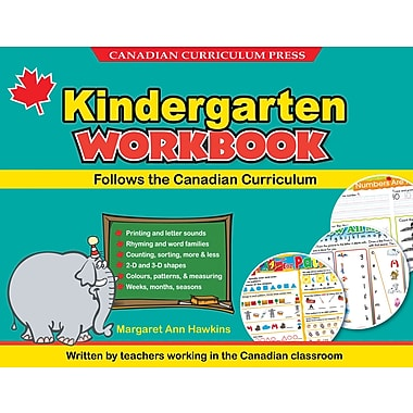 Canadian Curriculum Press Floorpad Workbook, Kindergarten