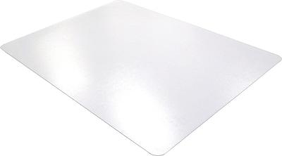 Floortex® Polycarbonate 79''x48'' Polycarbonate Chair Mat for Carpet, Rectangular (1120023ER)