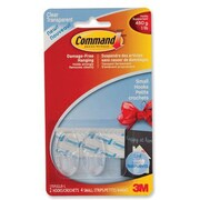 Command™ Clear Small Hooks