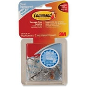 Command™ Clear Small Utensil Hook Value Pack
