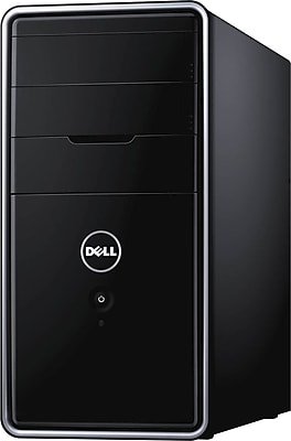 Dell Inspiron 3000 Series 3.60GHz Intel® Core™ i3-4160, 1TB HDD, 8GB RAM, Windows 7 Pro 64-Bit Desktop