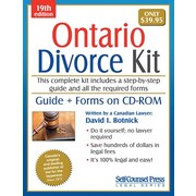 Self Counsel Press Ontario Divorce Kit