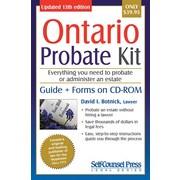 Self Counsel Press Ontario Probate Kit
