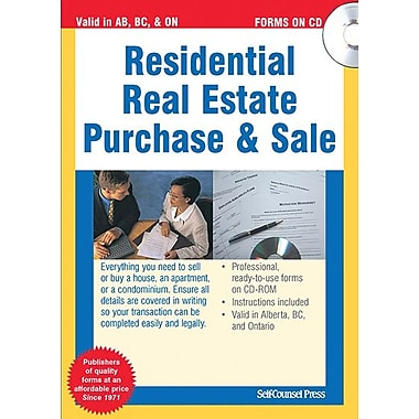 Self Counsel Press Residential Real Estate Purchase and Sale