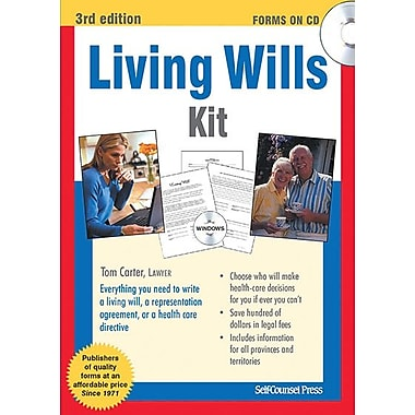 Self Counsel Press Living Wills Kit