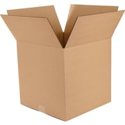 "Vari-Depth Corrugated Boxes, 14"" x 14"" x 14"", 25/Bundle"