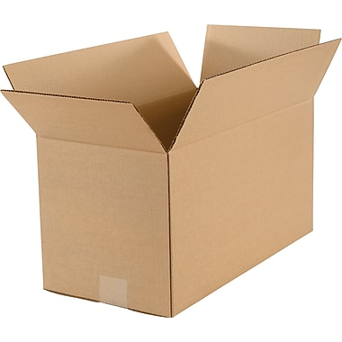 Boîtes grandes, 18 po x 9 po x 9 po, lot de 25