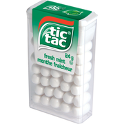tic tac® Mints, Fresh Mint, 24 g