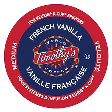 Timothy's® French Vanilla K-Cup Refills, 24/Pack