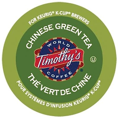 Timothy's® Chinese Green Tea K-Cup Refills, 24/Pack
