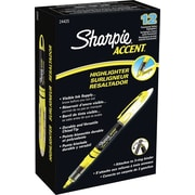 Sharpie® Liquid Accent® Highlighter, Fluorescent Yellow, 12/pk (1754463)