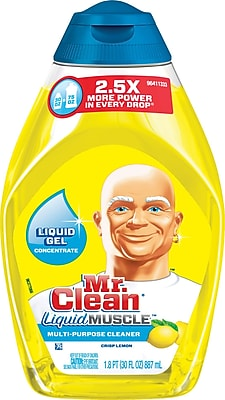 Mr. Clean® Liquid Muscle™ Multi-Purpose Cleaner, Crisp Lemon, 30 oz.