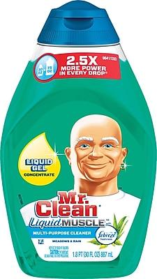 Mr. Clean® Liquid Muscle™ Multi-Purpose Cleaner with Febreze™, Meadows & Rain, 30 oz.