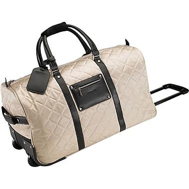 Bugatti Ladies Campinas Polyester Rolling Duffle Bag, Beige