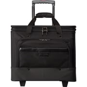 "Bugatti 17"" Litigation Business Case on Wheels, Black"