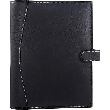 Bugatti - Journal en cuir véritable Hardy, noir