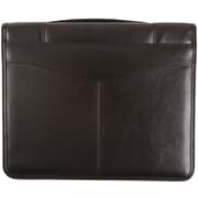 Bugatti Bronte Genuine Zippered Leather Binder, Black