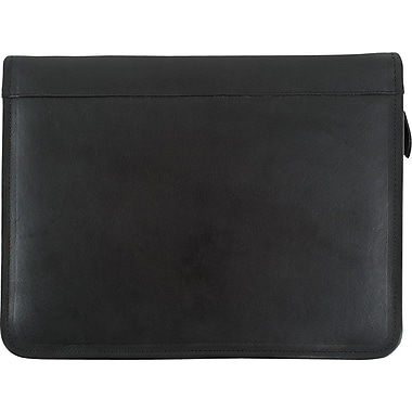Bugatti Tennyson Leather Padfolio, Black