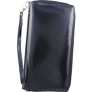 Bugatti Texel Leather Deluxe Travel Organizer, Black