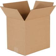 "Corrugated Boxes, 11-1/4"" x 8-3/4"" x 10-1/2"", 25/Bundle"