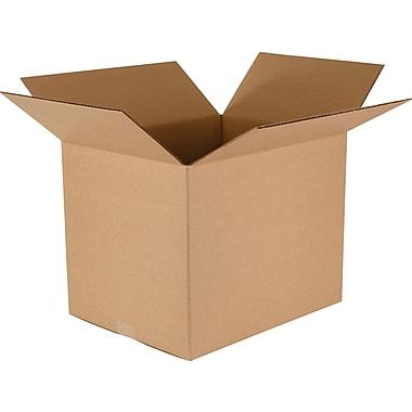 Boîtes de rangement/d'emballage, 16 po x 12 3/4 po x 12 3/4 po, lot de 25