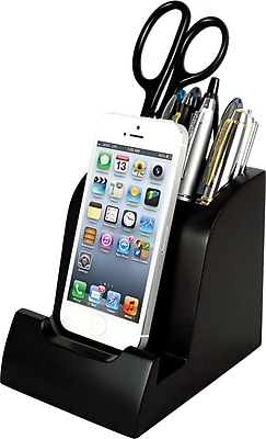 Victor Smart Charge Lightning Dock™ with Pencil Cup, Black