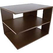 Victor Technology Wood Desk Accessories Corner Shelf, Mocha Brown (B1120)