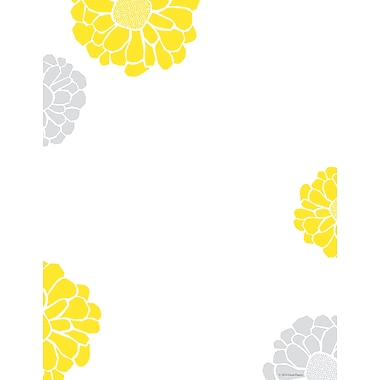 Great Papers® Sunny Flowers Letterhead, 80/Pack
