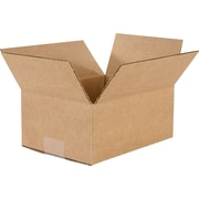 "Corrugated Boxes, 8-3/4"" x 6-1/2"" x 3-3/4"", 25/Bundle"
