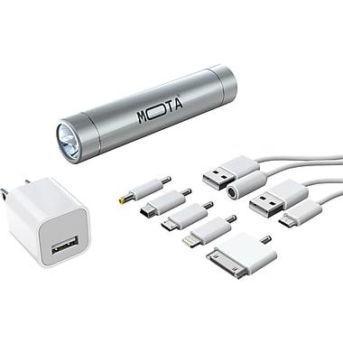 MOTA 2,600 mAh Battery Stick Kit, Silver