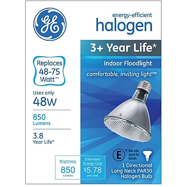 GE 48 Watt PAR30 Halogen Indoor Floodlight