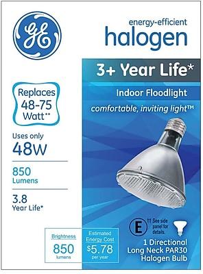 GE 48 Watt PAR30 Halogen Indoor Floodlight