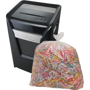 Staples® Shredder Bags, 15.8g (60L), 16/Box