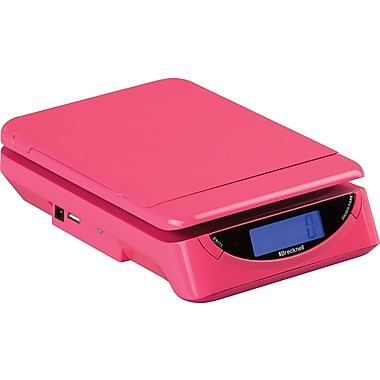 Brecknell 25 lb Electronic Postal Scale, Pink