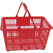 Plastic Handle Hand Shopping Basket, 10/Pack