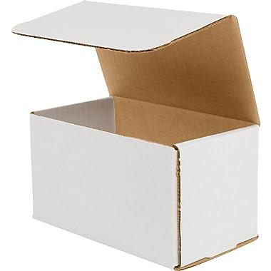 Boîtes d'expédition résistantes à l'écrasement, 7 x 4 x 4 (po), lot/100
