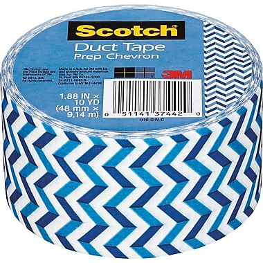 Scotch® Brand Duct Tape, Prep Chevron, 1.88