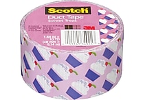 Scotch® Brand Duct Tape, Cupcakes, 1.88' x 10 Yards