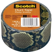 "Scotch® Brand Duct Tape, Pretty Snakey, 1.88"" x 10 Yards"