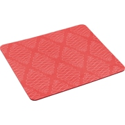 "Mouse Pad with Precise Mousing Surface, 9"" x 8"", Coral Pink"